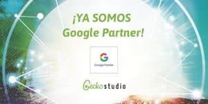 Gecko Studio ya tiene la distinción Google Partner