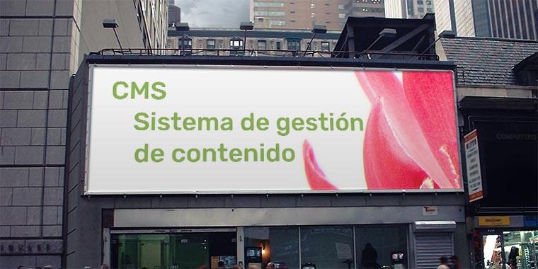 cms sistema gestion contenido