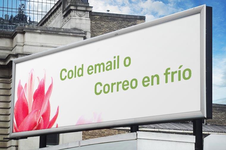 cold email o correo electronico en frio