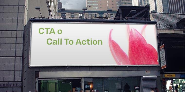 cta o call to action