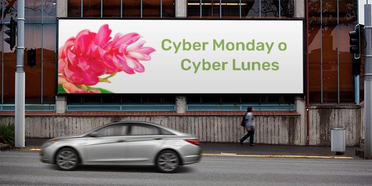 cyber monday o ciber lunes