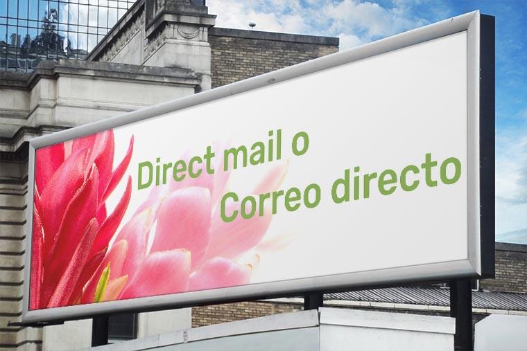 direct mail correo directo