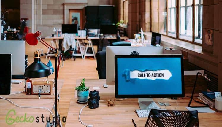 diseñar llamadas a la acción o CTA