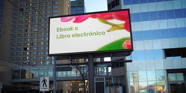 ebook o libro electronico
